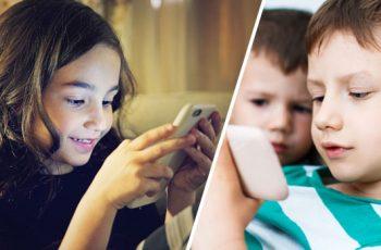 Børn og mobiltelefoner i 2016